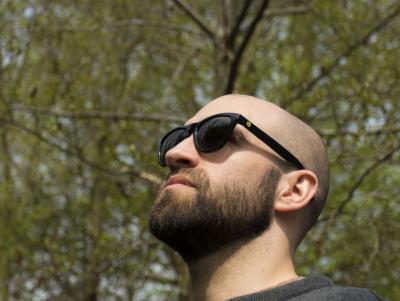 OKULIARE Avid Carp Smoke Sunglasses