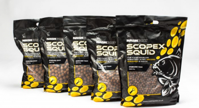 Boilies - Nash Stabilised Boilies Scopex and Squid