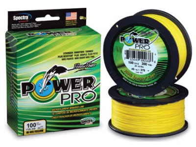Šnúra - POWER PRO 135m yellow - žltá