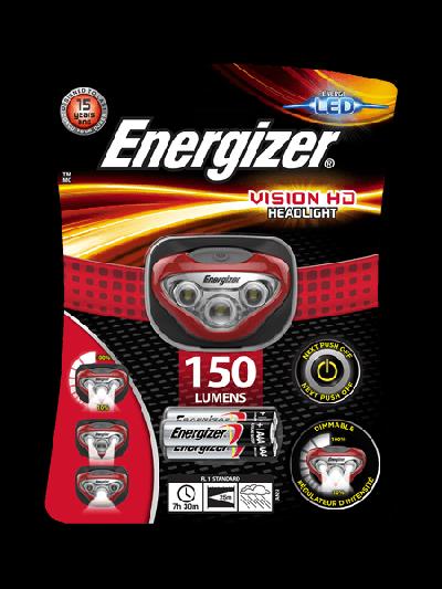 Fejlámpa - Energizer Vision HD