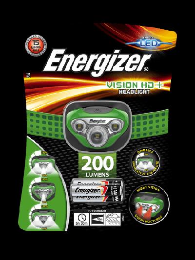 Fejlámpa - Energizer Vision HD+