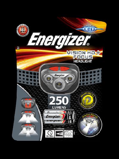 Fejlámpa - Energizer Vision HD+ Focus