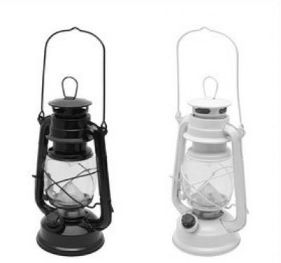 LED lampa v tvare petrolejky