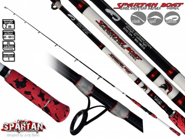Sumcový prút - Esox SPARTAN BOAT Classic
