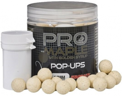 Plávajúce boilies - Probiotic Pop up - Maple and Golden Syrup 20mm