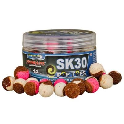 Plávajúce Boilies - Starbaits SK 30 Pop Tops 14mm