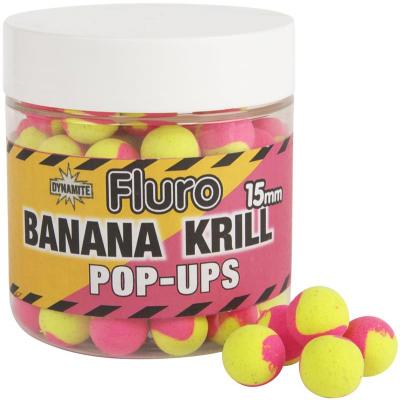 Plávajúce Boilie - Fluro Pop Up - Banana Krill