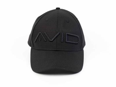 Šiltovka Ripstop Black Cap AVID CARP