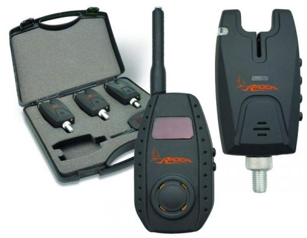 Signalizátor set - COMBAT II bite alarm 3 + 1