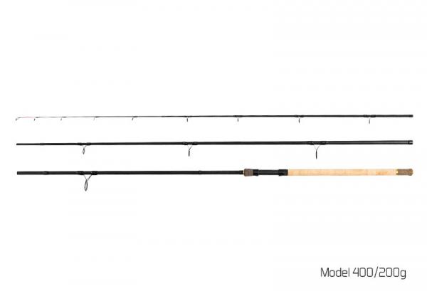 Feedrový prút Delphin RIVER Trophy Feeder X-TRA 360cm / 200g + 4 špičky