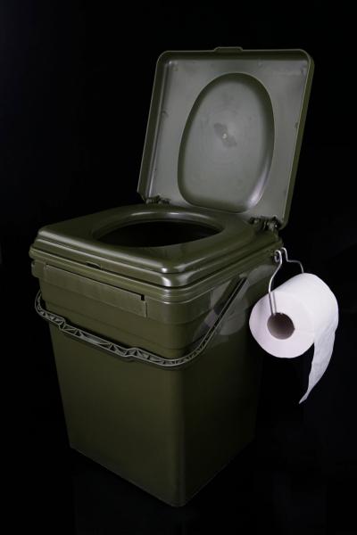 Toaletné sedadlo RidgeMonkey Cozee Toilet Seat pre Modular Bucket XL 30l
