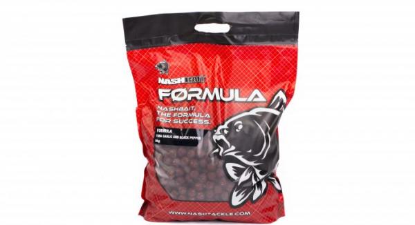 Boilies - Nash Formula TUNA GARLIC + BLACK PEPPER 5KG