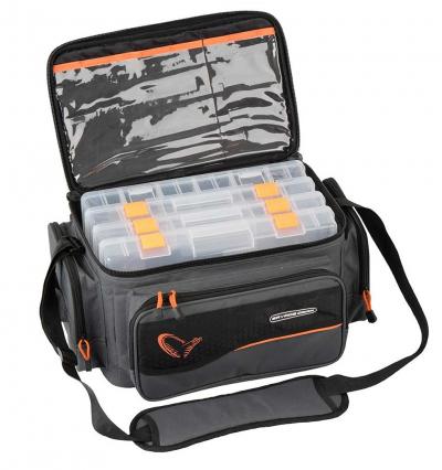 Pergető táska - Savage Gear System Box Bag L
