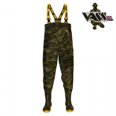 PRSAČKY - Vass-Tex 800 Camouflage Chest Wader