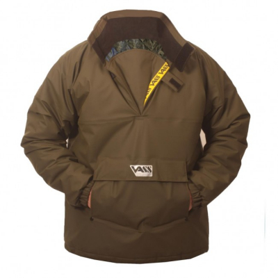NEPROMOKAVÁ ZATEPLENÁ BUNDA - Team Vass 175 Winter Lined Smock Khaki Edition