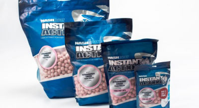 Boilies - Nash Instant Action Strawberry Crush