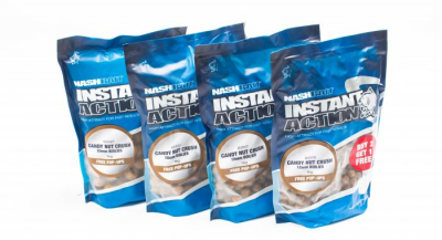 Boilies - Nash Instant Action Candy Nut Crush