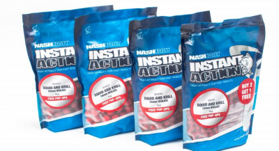 Boilies - Nash Instant Action Squid and Krill