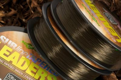 Šokovka ujímajúcím sa priemerom - Korda Subline Tapered leader 0,28-0,50mm
