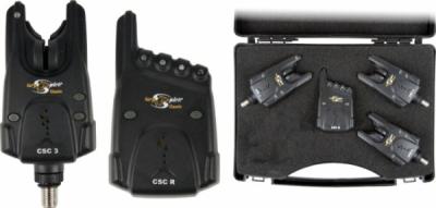 Kapásjelző szett - CARP SPIRIT 4X CSC 1X Receiver