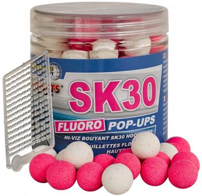 Plávajúce Boilies - Starbaits Fluoro Pop ups SK30 14mm