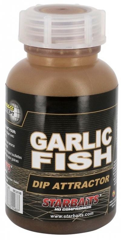 DIP Starbaits - Garlic fish 200ml