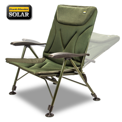 Rybarska stolička - Solar Bankmaster Recliner Chair Wide
