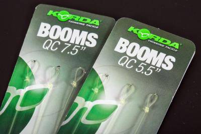 Fluorokarbonový náväzec - Korda Boom 7.5 Loop 19cm