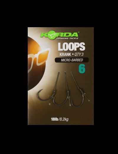 Hotové náväzce - Korda Loop Rigs Krank 18lb