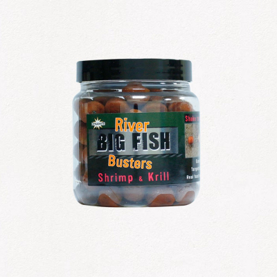 Boostrovaný boilies - Big Fish River Hookbaits – Shrimp & Krill