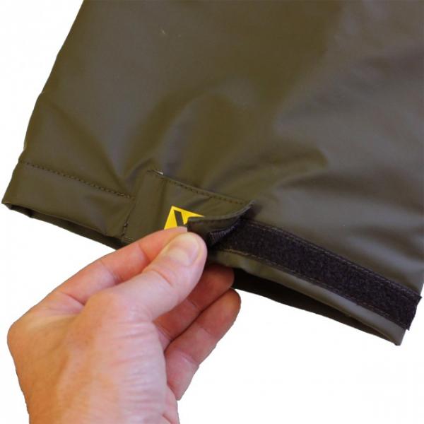 Vízálló Bemelegített nadrág - Team Vass 175 Winter Lined Bib & Brace Khaki Edition