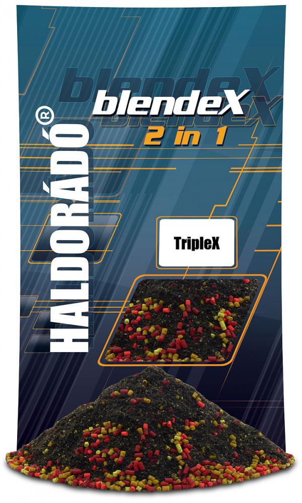 Vnadiaca zmes Haldorádó BlendeX 2 in 1TripleX 800g