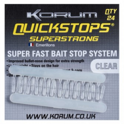 Gyorsütköző Korum Quickstops Superstrong