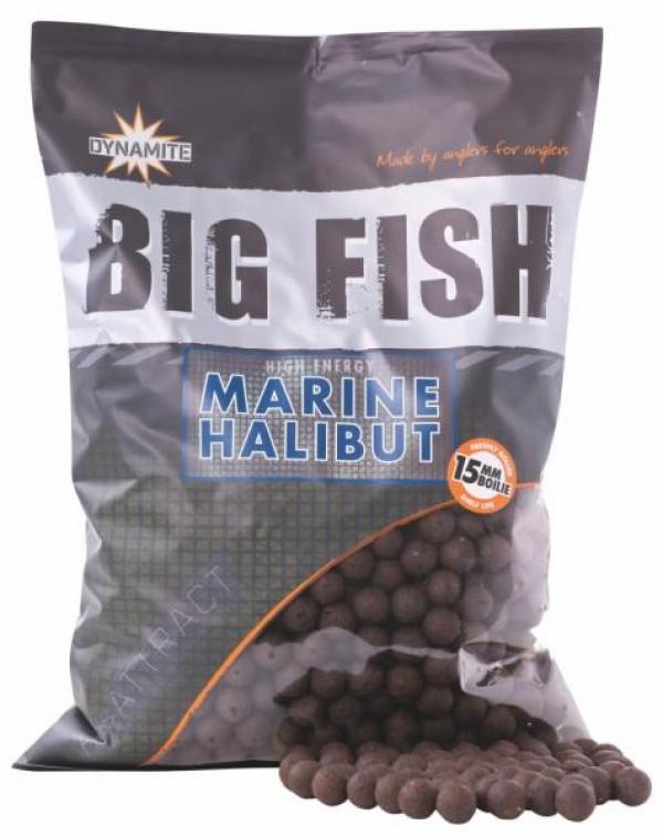 Boilies - Dynamite Baits Big Fish Marine Halibut 20mm - 1,8kg