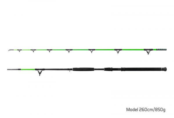 Sumcový prút - Delphin Catkong WALKYRA / 2 diely 300cm/850g