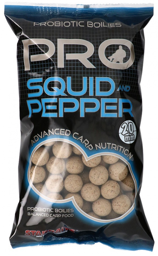 Boilies - Starbaits Probiotic Squid & Pepper