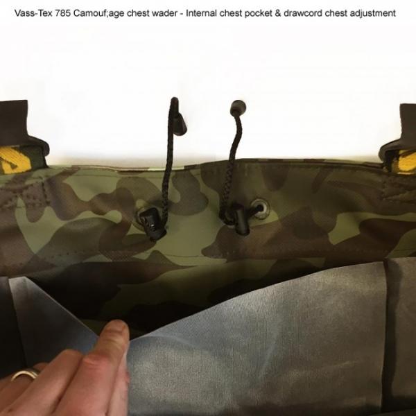 PRSAČKY - Vass-Tex 785 'Heavy Duty' Camouflage Waders
