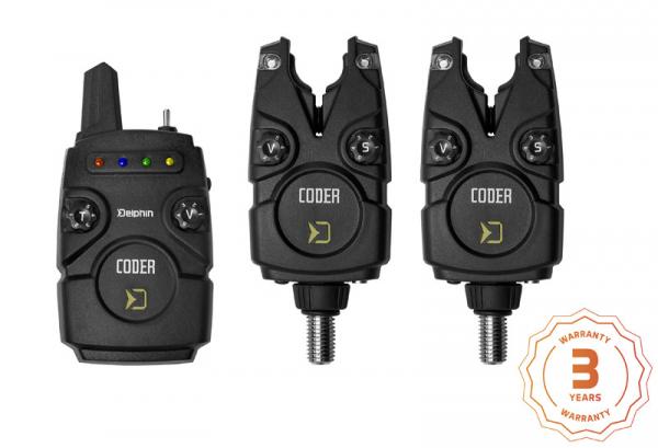 Sada signalizátorov Delphin CODER | 2+1
