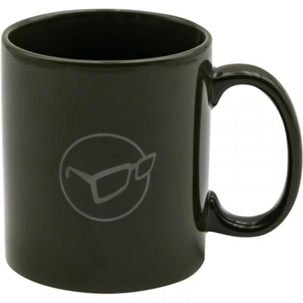 Hrnček - Korda Mug Glasses Logo Olive