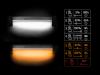 Sátorlámpa távirányítóval Delphin LightBAR