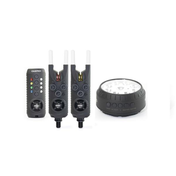 Sada signalizátorov - Sonik Gizmo 2+1 Alarm + Bivvy Lamp