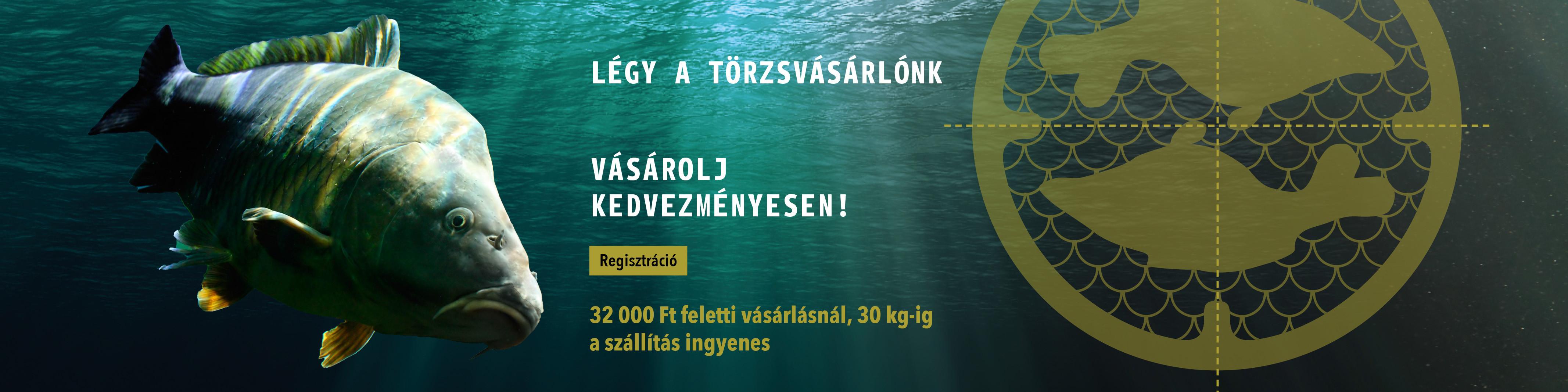 Regisztráció - FISHMASTER