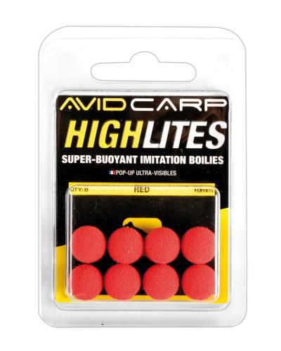 Imitácia boilies - Highlites AVID CARP 10mm