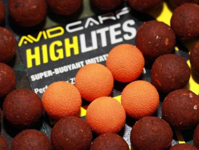 Imitácia boilies - Highlites AVID CARP 14mm